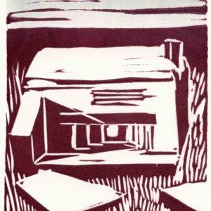 Roger Dewint - Bunker - Gravure
