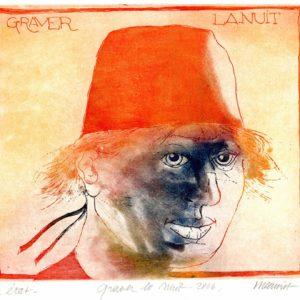 Roger Dewint - Graver la nuit - Gravure