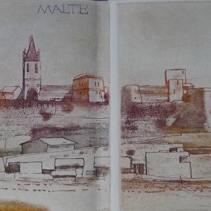 Roger Dewint - Malte - Gravure