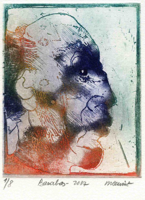 Roger Dewint - Barabas - Gravure