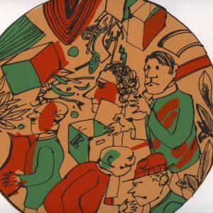 Roger Dewint - Ardent Duchesne - Voyage en poésie 4 - Gravure
