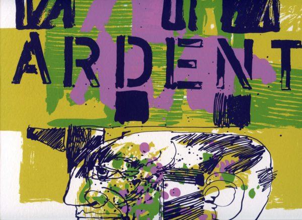 Roger Dewint - Ardent Duchesne - Voyage en poésie 5 - Gravure