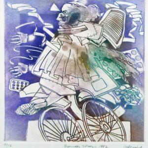 Roger Dewint - Grandes roues - Gravure