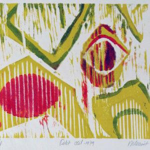 Roger Dewint - Petit oeil - Gravure