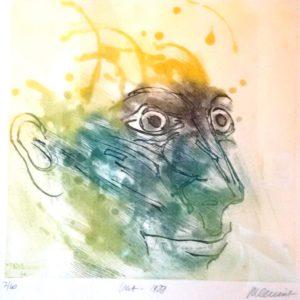 Roger Dewint - Vert - Gravure