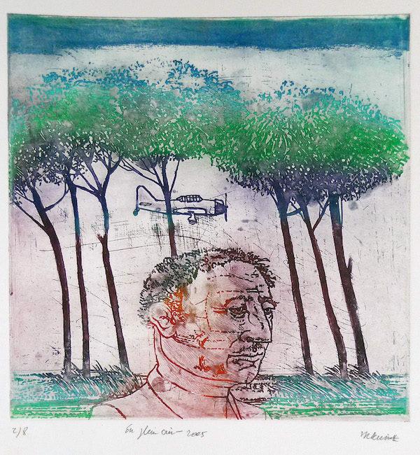 Roger Dewint - En plein air - Gravure