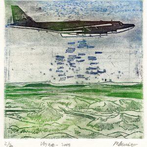 Roger Dewint - Gravure - Voyage